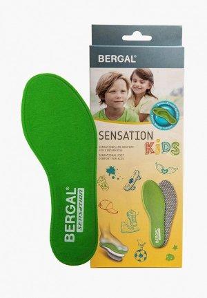 Стельки Bergal SENSATION. Цвет: зеленый