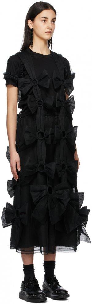Black Tulle Suspenders Dress Noir Kei Ninomiya. Цвет: 1 black