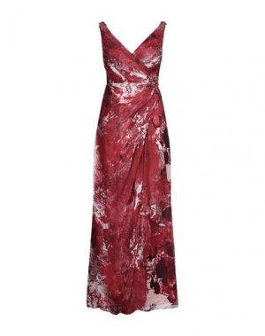 Длинное платье AIRE Barcelona. Цвет: красный