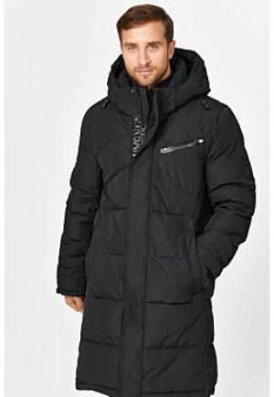 Утепленная стеганая куртка с капюшоном Clasna