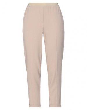 Повседневные брюки GOSSIP. Цвет: светло-коричневый