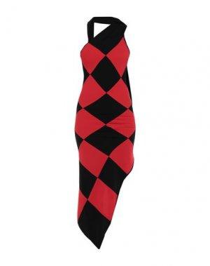 Короткое платье GARETH PUGH. Цвет: красный