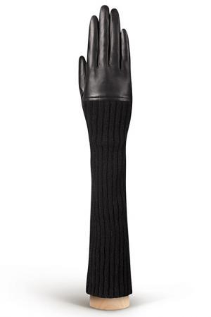 Перчатки Eleganzza. Цвет: черный, шерсть, кашемир