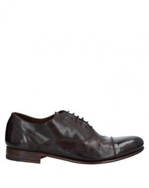 Обувь на шнурках CALPIERRE. Цвет: темно-коричневый