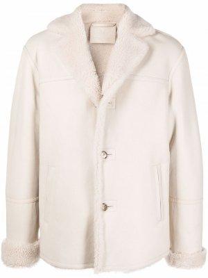 Куртка с мехом Desa 1972. Цвет: нейтральные цвета