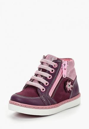 Ботинки Max & Jessi. Цвет: фиолетовый
