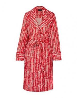 Легкое пальто AKRIS. Цвет: красный