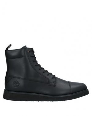 Полусапоги и высокие ботинки TIMBERLAND. Цвет: черный