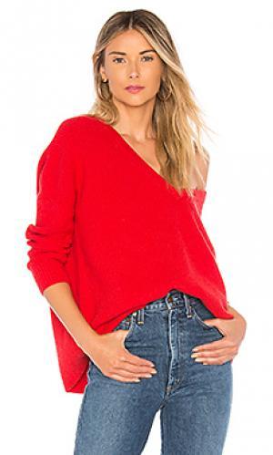 Пуловер ethan Chrissy Teigen. Цвет: красный