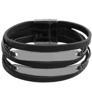 Браслет Ekonika EN40001 black/nikel-20Z
