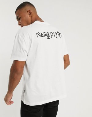 Белая футболка -Белый Napapijri