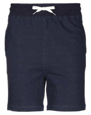 Повседневные шорты BAND OF OUTSIDERS. Цвет: темно-синий