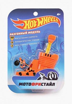 Набор игровой 1Toy Hot Wheels Мотофристайл. Цвет: оранжевый