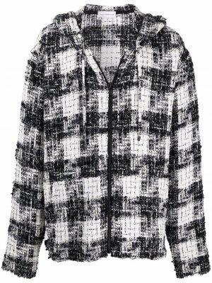 Куртка на молнии с капюшоном Faith Connexion. Цвет: черный