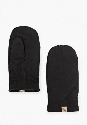 Варежки Bask. Цвет: черный