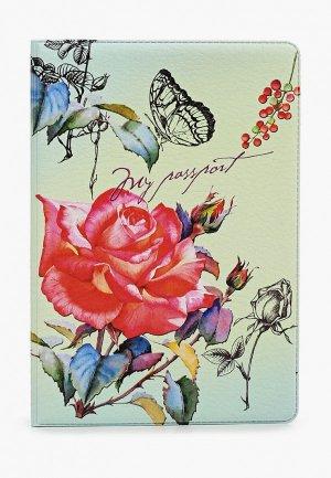 Обложка для паспорта Artio Nardini. Цвет: разноцветный