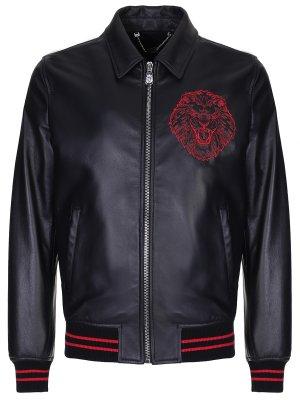 Куртка кожаная BILLIONAIRE