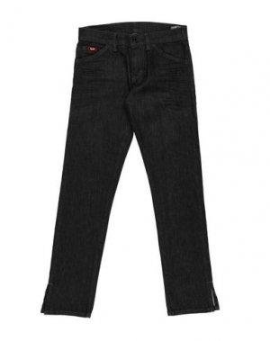 Джинсовые брюки GAS. Цвет: стальной серый
