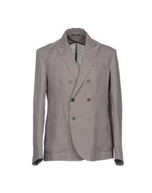 Пиджак 26.7 TWENTYSIXSEVEN. Цвет: голубиный серый