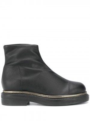 Декорированные ботинки Grey Mer. Цвет: черный