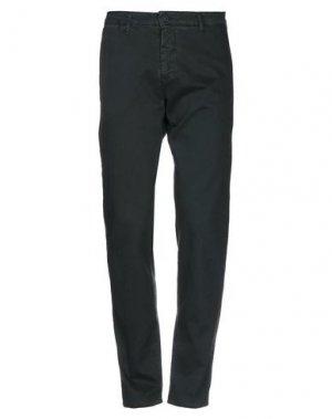 Повседневные брюки ARMATA DI MARE. Цвет: темно-зеленый