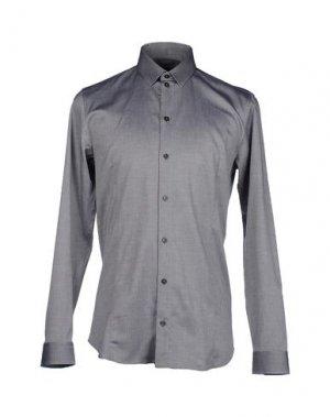 Рубашка с длинными рукавами PATRIZIA PEPE. Цвет: черный