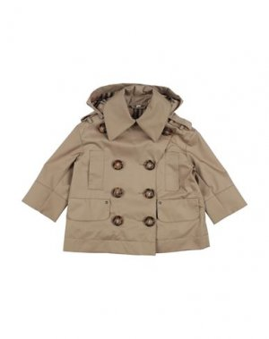 Легкое пальто BURBERRY. Цвет: бежевый