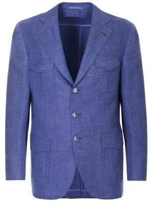 Пиджак с накладными карманами ATTOLINI