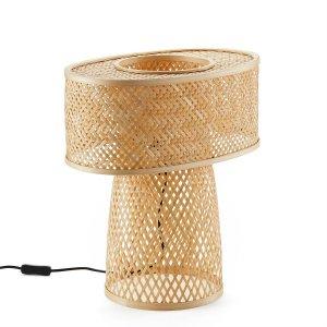 Лампа LaRedoute. Цвет: бежевый