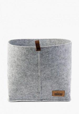 Органайзер для хранения Eva 28х28 см. Цвет: серый