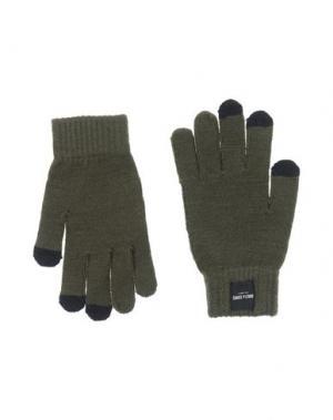 Перчатки ONLY & SONS. Цвет: зеленый-милитари