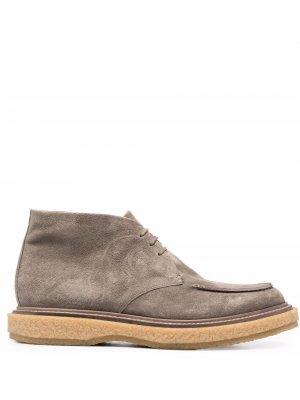 Ботинки дезерты Officine Creative. Цвет: серый