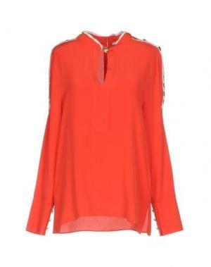 Блузка PIERRE BALMAIN. Цвет: коралловый