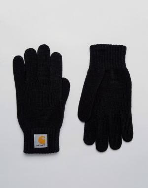 Перчатки WIP Carhartt. Цвет: черный