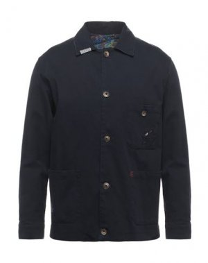 Куртка KOON. Цвет: темно-синий