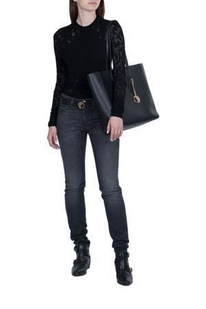 Джинсы Versace Collection. Цвет: серый