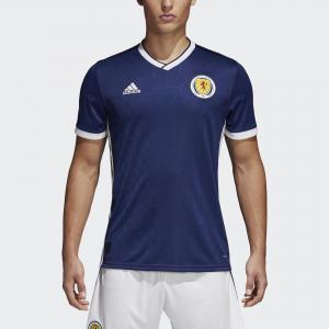 Домашняя игровая футболка сборной Шотландии Performance adidas. Цвет: белый