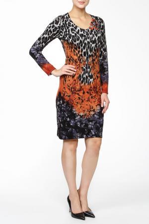 Платье Philippe Carat. Цвет: оранжевый