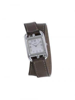 Наручные часы Cap Cod pre-owned 23 мм 2000-х годов Hermès. Цвет: серебристый