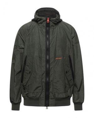Куртка HISTORIC. Цвет: изумрудно-зеленый