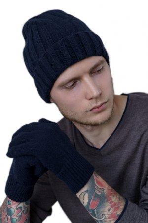 Перчатки JOHN TRIGGER. Цвет: темно-синий