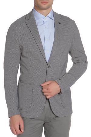 Пиджак SEVENTY. Цвет: серый