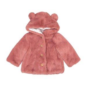 Пальто LaRedoute. Цвет: розовый