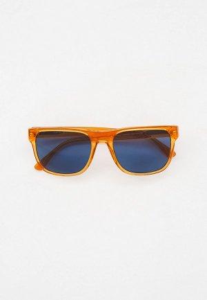 Очки солнцезащитные Emporio Armani EA4163 588380. Цвет: оранжевый