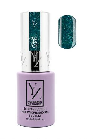 Гель-лак YZ. Цвет: бриллиантовая зелень