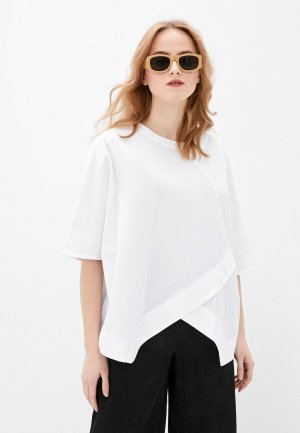 Блуза Снежная Королева. Цвет: белый