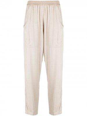 Спортивные брюки с эластичным поясом 8pm. Цвет: нейтральные цвета