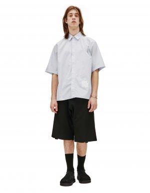 Рубашка с коротким рукавом и патчем OAMC