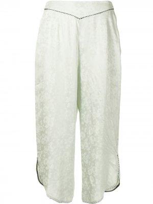 Пижамные брюки Margo Morgan Lane. Цвет: зеленый