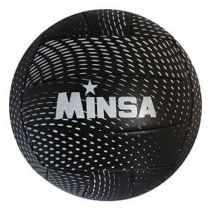 Мяч волейбольный minsa v18, 18 панелей, pvc, 2 подслоя, машинная сшивка, размер 5